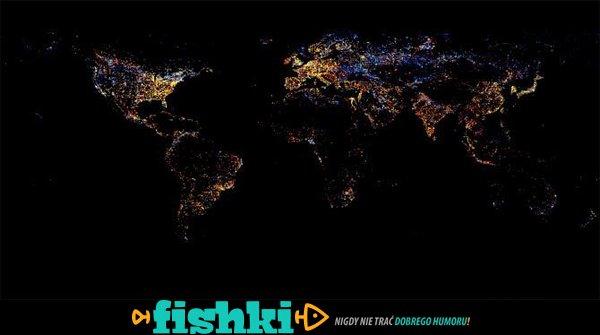 Światła Ziemi w nocy - zdjęcie 7