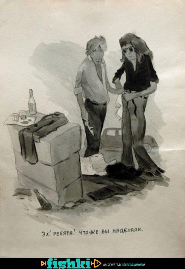 Sowieckie plakaty walki z alkoholizmem - zdjęcie 1