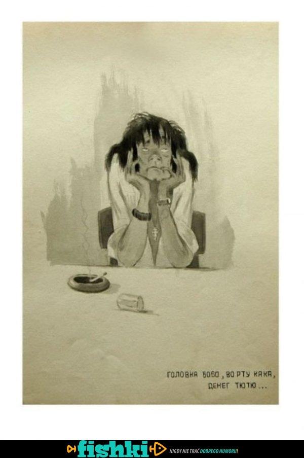 Sowieckie plakaty walki z alkoholizmem - zdjęcie 31