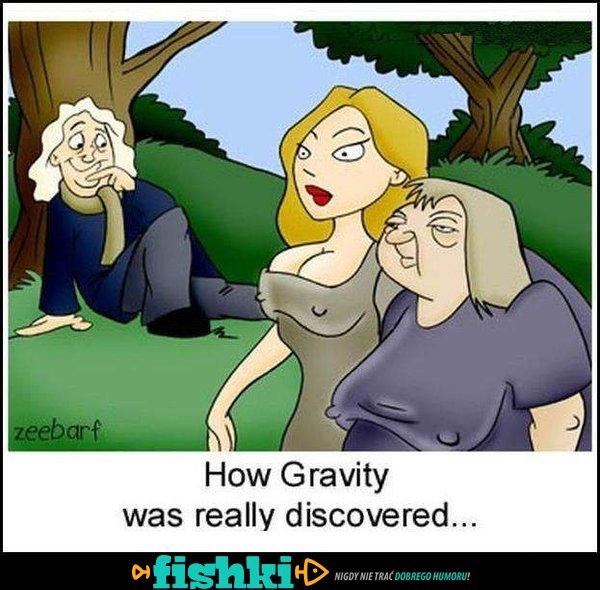 Jak odkryto grawitację