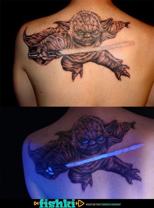 świetlny Tatuaż Fishkipl