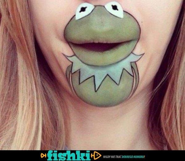 Kermit - niesamowity rysunek