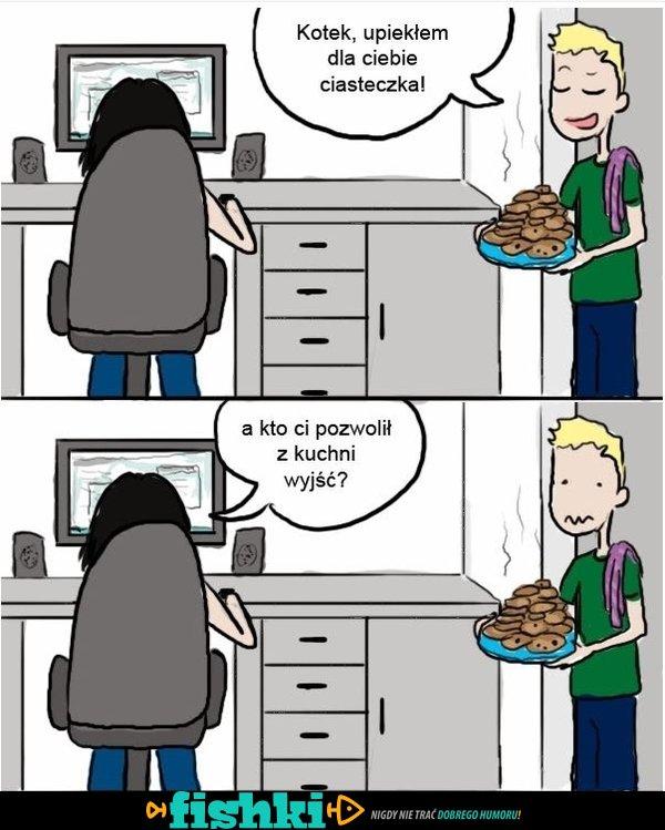 Upiekłem dla Ciebie ciasteczka