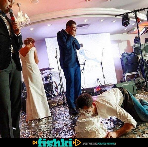 Wpadki na weselach - zdjęcie 1