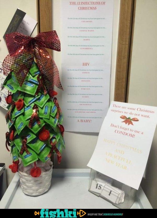 Dekoracje świąteczne w szpitalach - zdjęcie 1