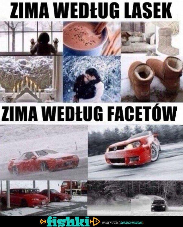 Tak kobiety widzą zimę