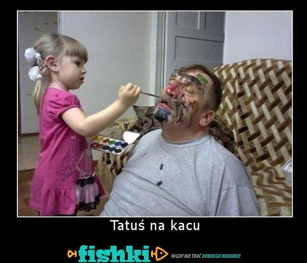 Tatuś na kacu
