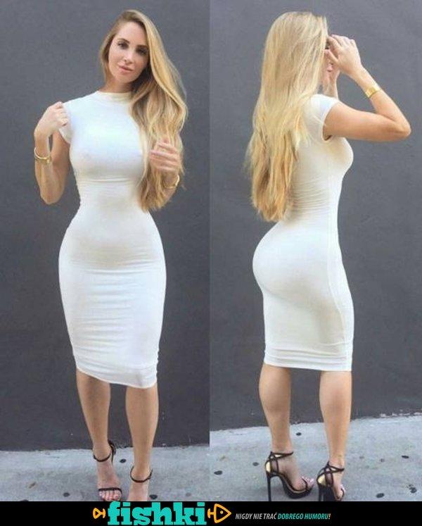W obcisłych sukienkach