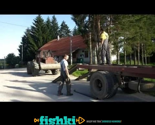 Dachowanie ciągnikiem