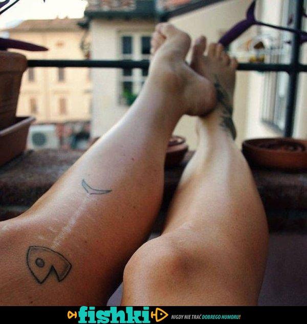 Pomysłowe Tatuaże Na Bliznach Fishkipl
