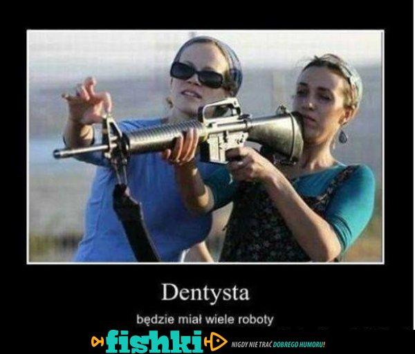 Dentysta zarobi...