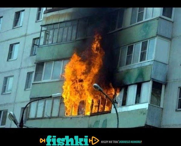 Nie grilluj w domu!