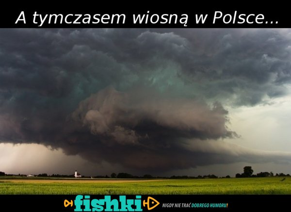 Wiosna w Polsce