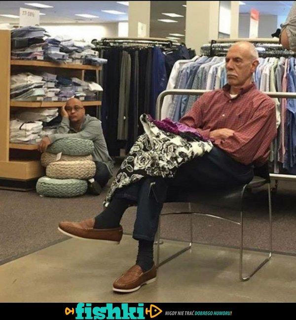 Z żoną na zakupach - zdjęcie 1