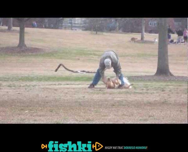 Udawał martwego żeby dłużej zostać w parku
