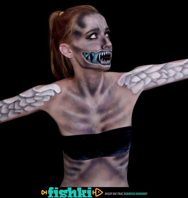 Mistrzyni makijażu. Potrafi zmienić się w potwora - zdjęcie 30