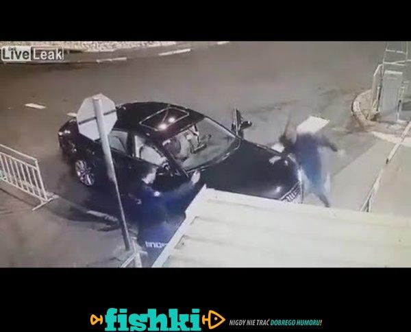 Zaatakował policjanta