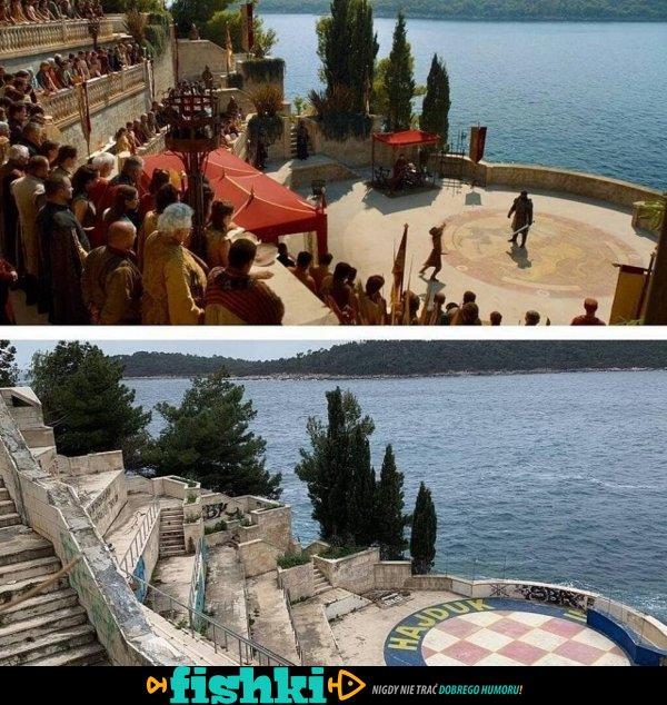 """Jak wyglądają miejsca znane z serialu """"Gra o tron"""" - zdjęcie 1"""