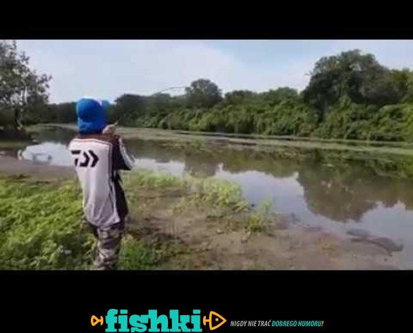 Niespodzianka na rybach