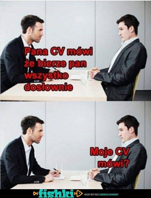 Na rozmowie o pracę