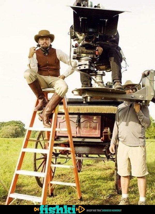 Na planie filmowym - zdjęcie 1