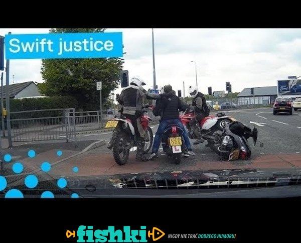 Zatrzymanie złodziei skuterów