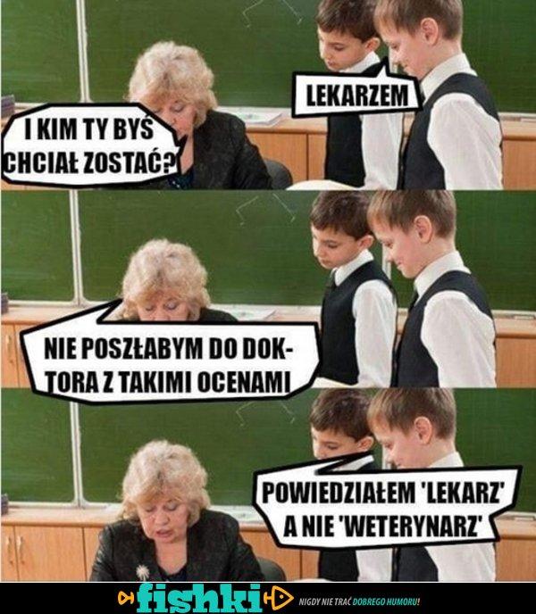 W szkole