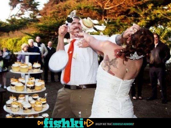 Zabawne zdjęcia ślubne - zdjęcie 1