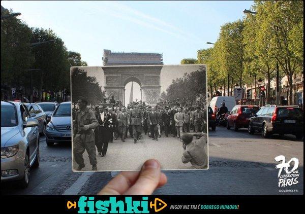 Paryż dawniej i dziś - zdjęcie 24