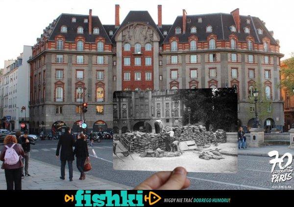 Paryż dawniej i dziś