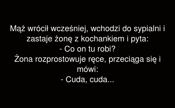 Co on tu robi?