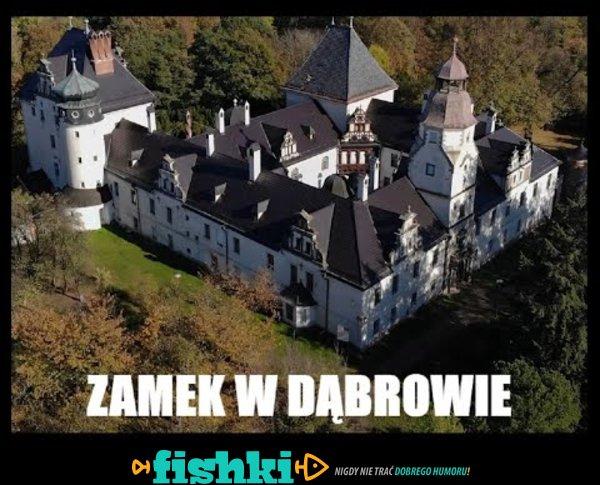 Jedna z opolskich pereł - zamek w Dąbrowie