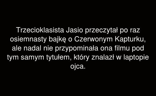 Trzecioklasista Jasio