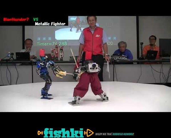 Roboty walczące na miecze