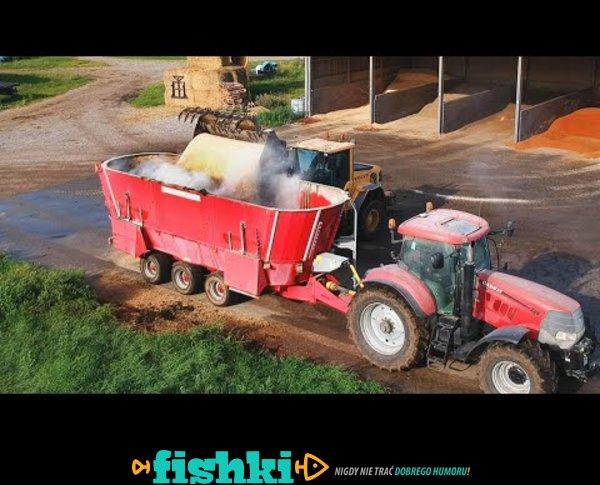 Cow Feed Mixing Modern Technology - Denmark Farm