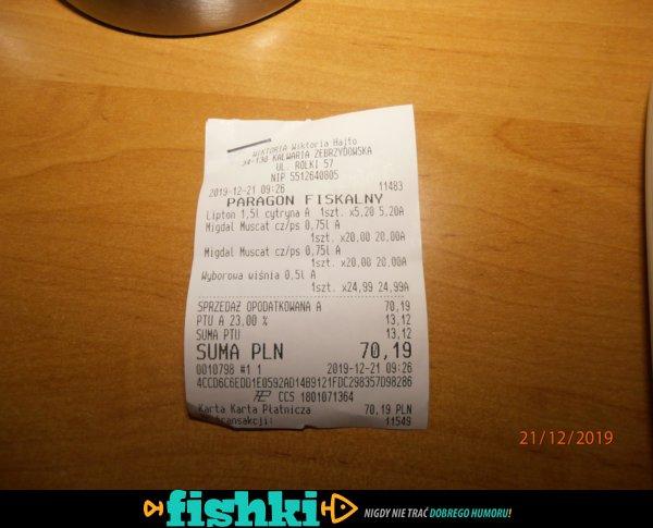 Polskie sklepy na codzień - 2x70,19 zł, przerwana tranzakcja offline, nie zwracają :-)