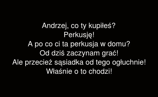 Andrzej, co ty kupiłeś?