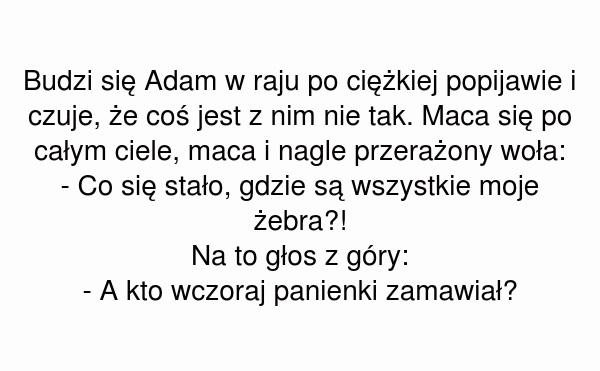 Budzi się Adam