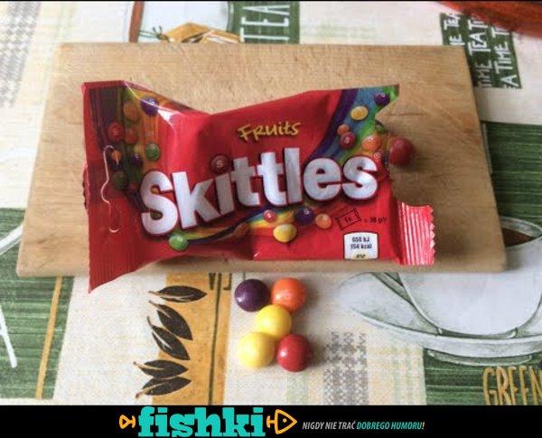 Po tym filmie więcej nie kupisz Skittles ;/