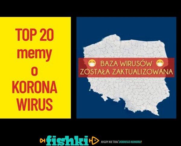 Habemus Koronawirus! Top 20 memów!