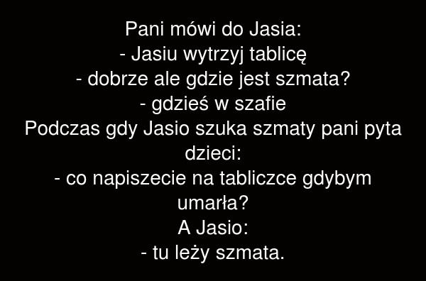 Pani mówi do Jasia