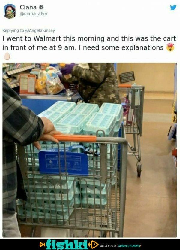 Irracjonalne zakupy podczas koronawirusa