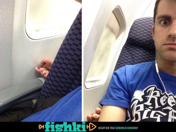 Najgorsi pasażerowie w samolotach - zdjęcie 1
