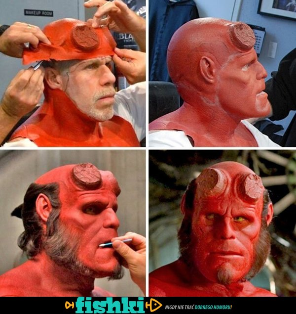 Niesamowita praca charakteryzatorów w Hollywood - zdjęcie 1