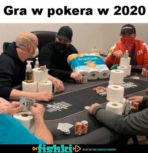 Gra w pokera w 2020 roku