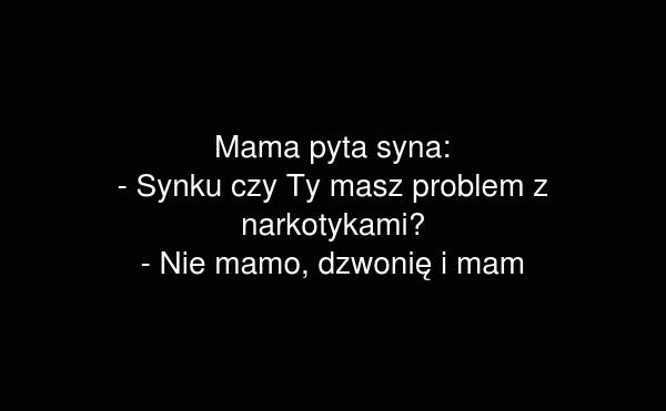 Mama pyta syna