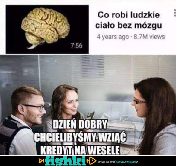 Bez mózgu