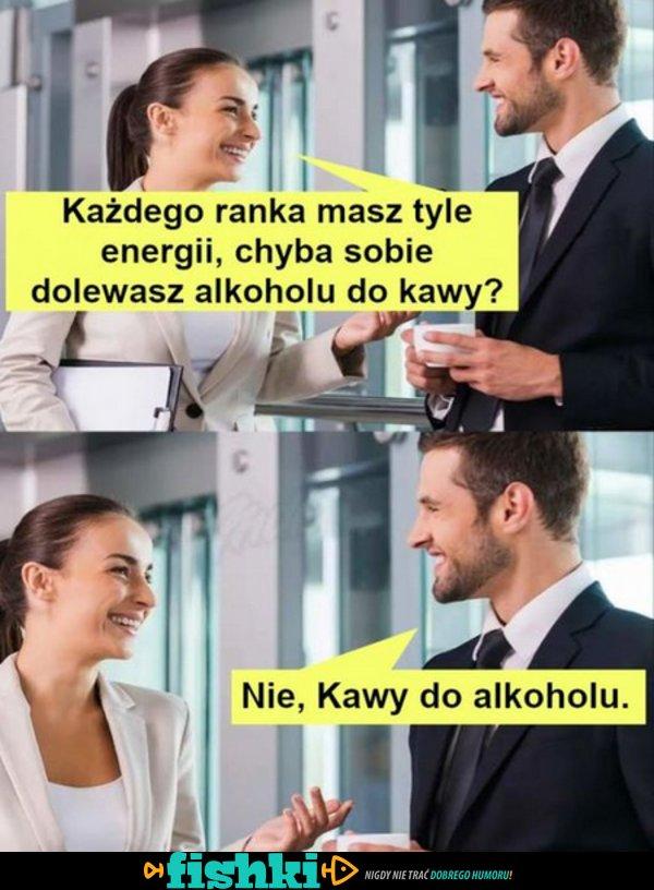 Zawsze masz tyle energii