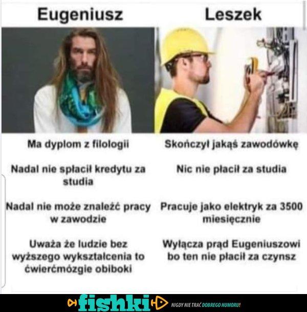 Eugeniusz i Leszek