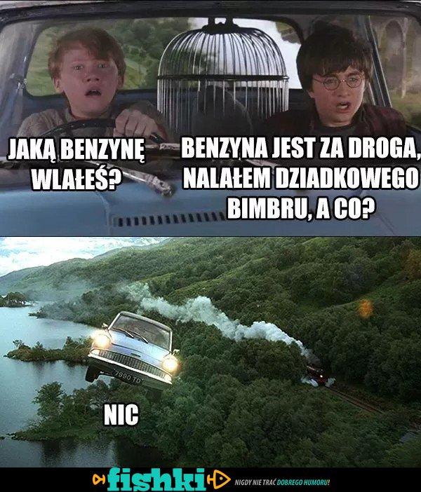 Jaką benzynę wlałeś?